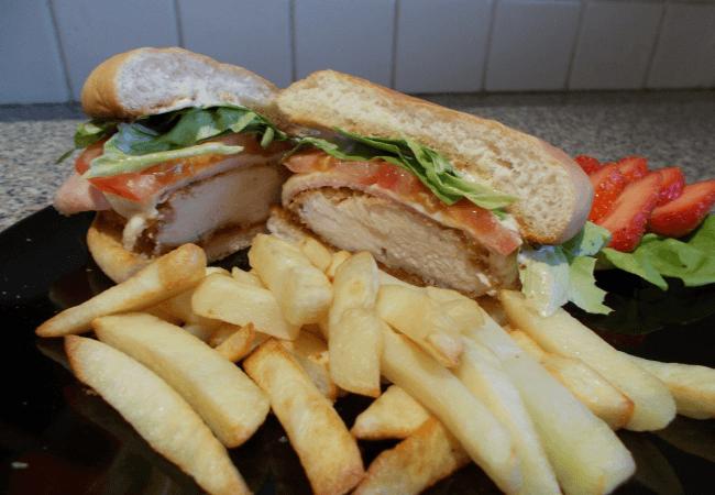 Img for Chicken Cordon Bleu Sandwiches