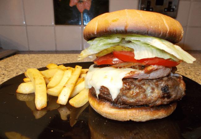 Img for Bacon Cheeseburger