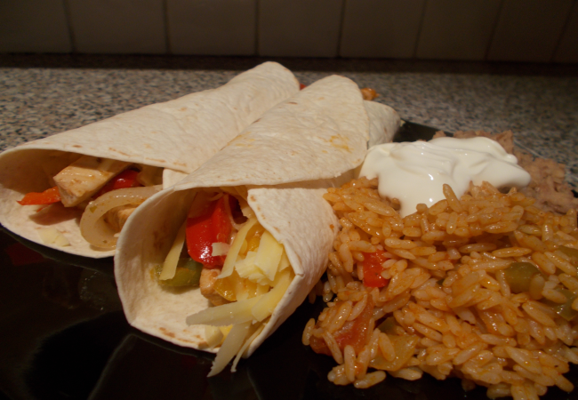Img for Chicken Fajitas