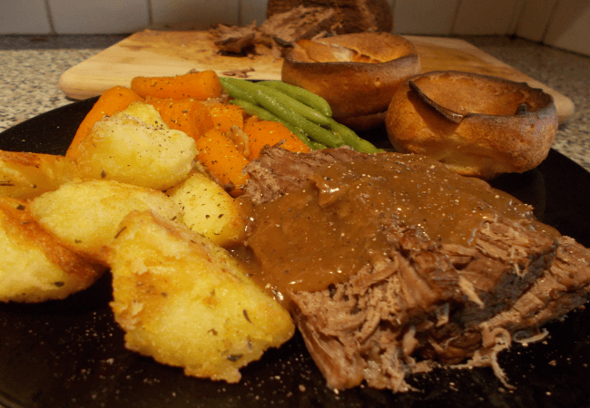 Img for Classic Slow Roasted Beef