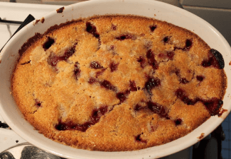 Img for Fool Proof Blackberry Cobbler