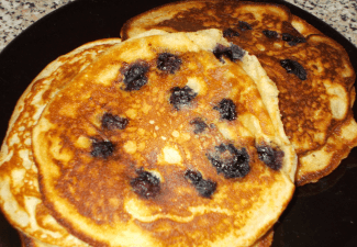 Img for Blueberry Pancakes