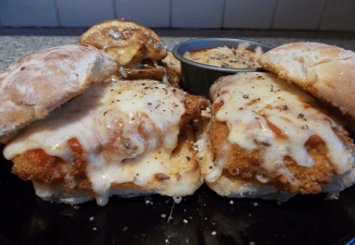 Img for Chicken Parmesan Sliders