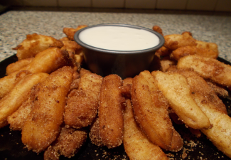 Img for Fried Cinnamon Apple Fries